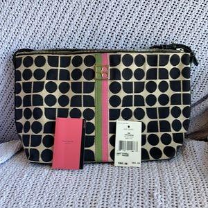 Kate Spade purse in vintage Noel weave pattern